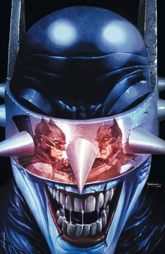The Batman Who Laughs by Mico Suayan, colours by Rom * Comic Book Characters, Comic Character, Comic Books Art, Comic Villains, Super Mario Sunshine, Dc Comics Art, Marvel Dc Comics, Batman Universe, Dc Universe