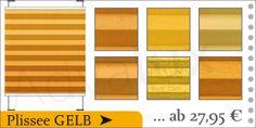 Plissee gelb günstig online kaufen - http://advalux-plissee.de/advalux-berlin/plissee-gelb