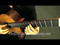 Für Elise - Bagatelle no. 25 in A Minor (classical guitar) - L. V. Beeth...
