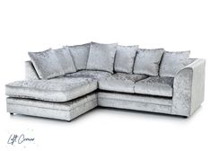 Wandsworth VIP | Cheap Crushed Velvet Corner Sofa