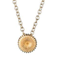 Kalevala Koru / Kalevala Jewelry / Pyörre-riipus / Swirl Pendant / Design Vesa Nilsson / Bronze & Silver