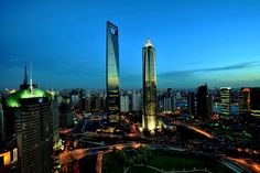 6. Shanghai World Financial Center, in Shanghai, China 1614 ft