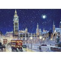 Snow in Westminster Christmas Cards