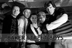 Haha! Back Street Boys=Baker Street Boys