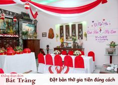 Cách đặt bàn thờ cưới theo phong thủy  chọn hướng bàn thờ ngày cưới đúng cách