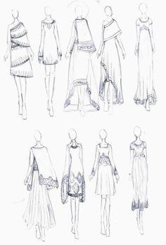 Fashion Design Sketches 389913280214255585 - Sari Inspired Dresses Source by Dress Design Drawing, Dress Design Sketches, Fashion Design Sketchbook, Fashion Design Drawings, Fashion Sketches, Drawing Sketches, Fashion Drawing Tutorial, Fashion Figure Drawing, Fashion Drawing Dresses