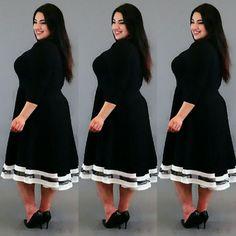 Charlotte Black Dress