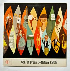 Image of 1950's Sea of Dreams - Album Art