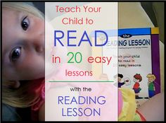 Teach Your Child to Read in 20 Easy Lessons with The Reading Lesson.