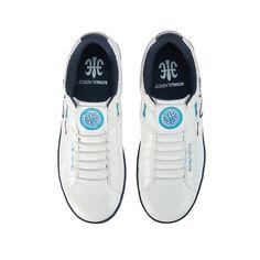 4bdc00ac Hydra Kicks White/Blue $85 - sneakers footwear fashion kicks #leather  #sneaks