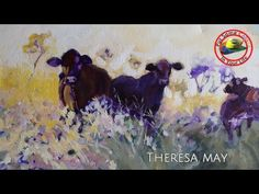 Art tips on How to Paint in Acrylic and Mixed Media with Theresa May on Colour In Your Life - YouTube