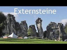 COMIC BITS ONLINE: GERMANY: 'Externsteine' rock pillars - Teutoburg F...
