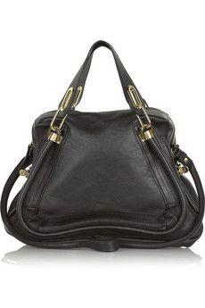Chloé The Paraty medium leather shoulder bag | NET-A-PORTER