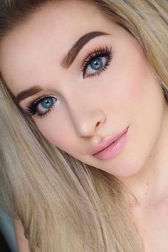 Natural Makeup for Blue Eyes Ideas