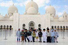 Kinderen voor de Grote moskee