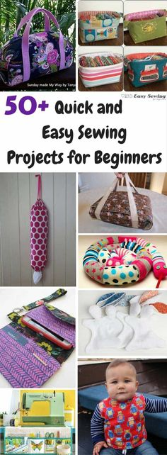 50+ free easy sewing projects for beginners