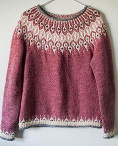 0d403e66beb1 Inspired by traditional Icelandic circular yoke sweaters