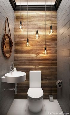 Awesome 60 Cool Farmhouse Powder Room Design Ideas With Rustic https://livingmarch.com/60-cool-rustic-powder-room-design-ideas/
