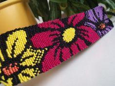 Flower bracelet by letax.deviantart.com on @deviantART