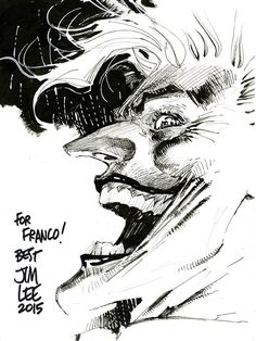 The Joker by Jim Lee *