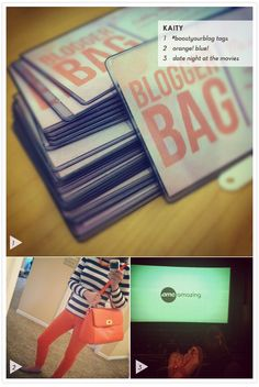 Kaity's Instagram diary: boost your blog tags, orange, and a trip to the cinema!