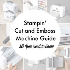 It's here! The NEW Stampin' Up! Cut and Emboss Machine guide: everything you need to know about the awesome paper craft tool.