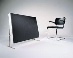 Braun LE1 electrostatic speaker by Dieter Rams (1959)