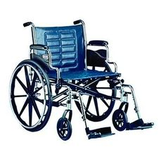 Tracer IV Heavy Duty Wheelchair Seat Size 24 W x 18 D Arms Fixed Full Length Weight Capacity 350 lbs weight capacity <3 Click the image to view the details