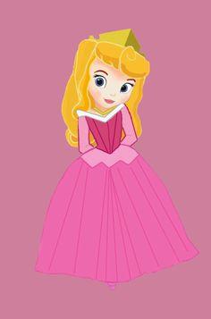 Little Disney Princess - Disney Leading Ladies Fan Art (30706120) - Fanpop fanclubs