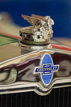 1929 Chevrolet Hood Ornament