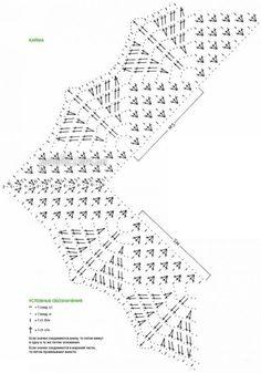 Crochet Collar Pattern, Crochet Border Patterns, Crochet Diagram, Crochet Chart, Crochet Motif, Crochet Doilies, Crochet Flowers, Crochet Lace, Crochet Stitches