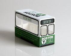 Green Tea packaging - Art & Design