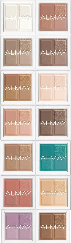 Almay Shadow Squad  I normally don't like anything Almay cosmetic brand,but this peaked my interest.