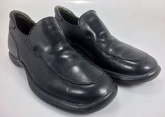 Donald J Pliner Loafers Mens 9.5M Black Iser I20 #DonaldJPliner #LoafersSlipOns