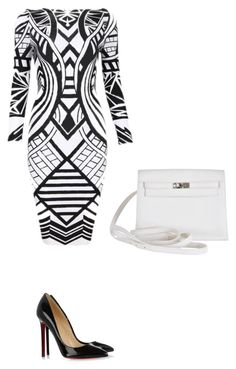 """Untitled #74"" by thabile-zungu on Polyvore featuring Christian Louboutin and Hermès"