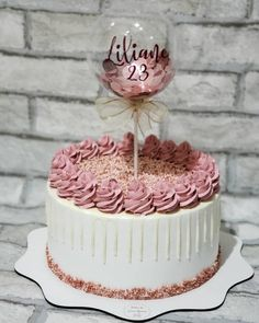Cake with carrot and ham - Clean Eating Snacks 22nd Birthday Cakes, Elegant Birthday Cakes, Beautiful Birthday Cakes, Beautiful Cakes, Amazing Cakes, Cake Decorating Techniques, Cake Decorating Tips, Artist Cake, Balloon Cake