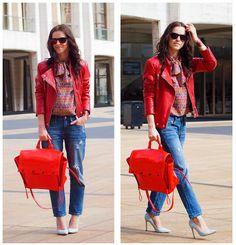 Zara Jacket, Christian Dior Top, 3.1 Phillip Lim Bag