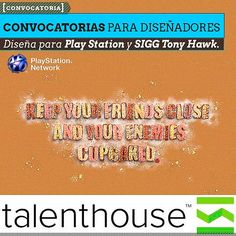 Convocatorias para diseñadores desde Talenthouse.  Nuevas convocatorias de Talenthouse con oportunidades en fotografía, video y diseño, auspiciados por PlayStation y SIGG Tony Hawke.    Leer más: http://www.colectivobicicleta.com/2013/03/convocatorias-de-Talenthouse-PlayStation-SIGG-Tony-Hawke.html#ixzz2MJCui22M