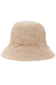 This Roberta Roller Rabbit's sun hat has a slim silhouette that harkens back to the look of a vintage 1920s cloche.