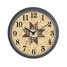 CafePress  Quilter  Unique Decorative 10 Wall Clock ** More info could be found at the image url.