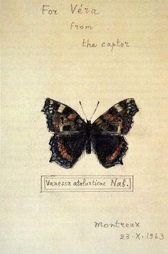 "Nabokov- ""For Vera from the captor"""