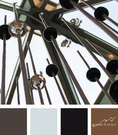 Lounge bar Fountain | Barbara Proverbio has handmade crystal glass beads with Murano glass | arch. Simona M. Favrin | Casabianca cafè - Jesolo