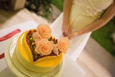 Hoi An Events Weddings - The wedding of your dreams come true Passion Fruit Cake, Traditional Cakes, Cake Pops, Wedding Designs, Yummy Treats, Cantaloupe, Our Wedding, Ice Cream, Ethnic Recipes