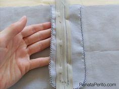 Como costurar a braguilha completa