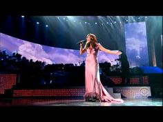 "Katharine McPhee - ""Somewhere Over The Rainbow"" (JC Penny Concert 2006). First she wowed people on American Idol, now she is on ""Glee."" Rich, sultry, lovely, very nice range voice."
