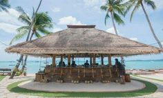 Coco Tam's bar on Bophut Beach in Fisherman's Village, Koh Samui.