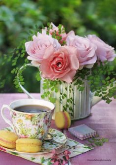 ☆Coffee and Roses <3