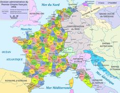 La organización territorial en la España del XIX : el dominio napoleónico / @geoinfinita | #socialgeo