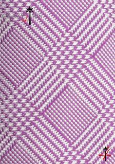 Particolare Tessuto Cravatta Principe di Galles in seta Jacquard Fucsia e Bianca