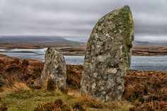Standing Stones, Ben Langass, North Uist Isle Of Harris, Outer Hebrides, Castle House, England And Scotland, Abandoned Places, Homeland, Outlander, Islands, Britain
